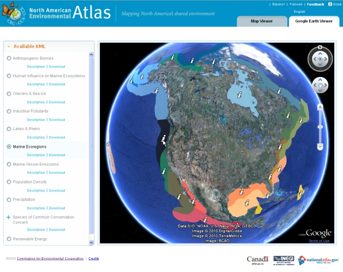CEC Atlas and GE Viewer