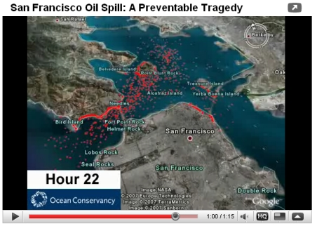 Oil Spill Video
